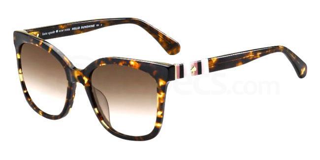 086 (HA) KIYA/S Sunglasses, Kate Spade