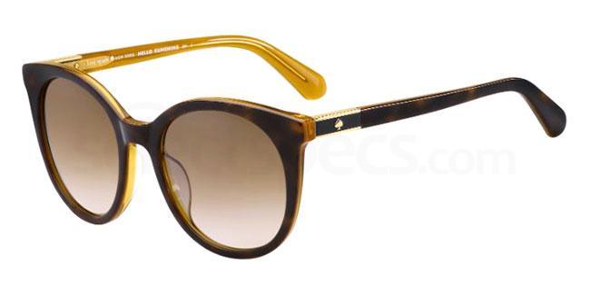 086 (HA) AKAYLA/S Sunglasses, Kate Spade