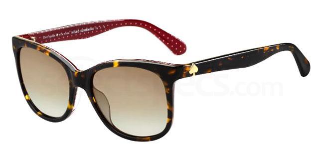086 (LA) DANALYN/S Sunglasses, Kate Spade