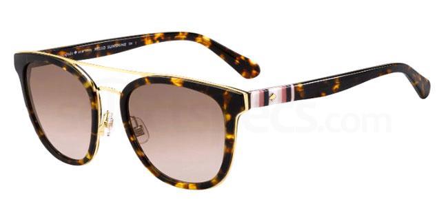 086 (HA) JALICIA/F/S Sunglasses, Kate Spade