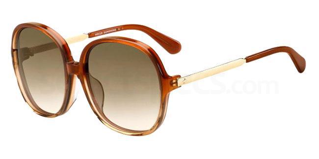 09Q (HA) KADELYN/F/S Sunglasses, Kate Spade