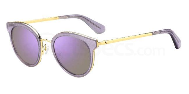 0T7 (13) LISANNE/F/S Sunglasses, Kate Spade