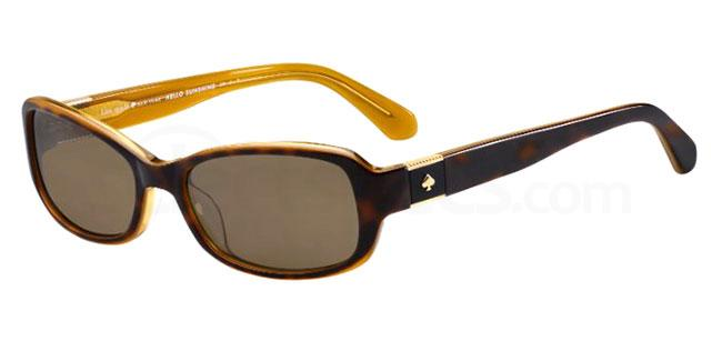 086 (SP) PAXTON2/S Sunglasses, Kate Spade