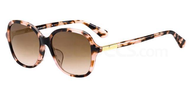 HT8 (HA) BRYLEE/F/S Sunglasses, Kate Spade
