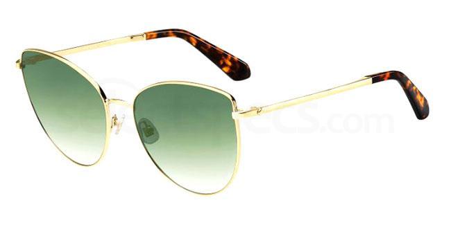 086 (9K) DULCE/G/S Sunglasses, Kate Spade