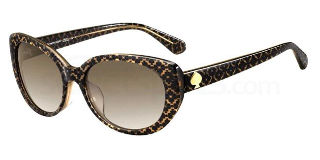 4Q8 (HA) EVERETT/F/S Sunglasses, Kate Spade