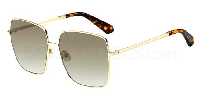 086 (HA) FENTON/G/S Sunglasses, Kate Spade