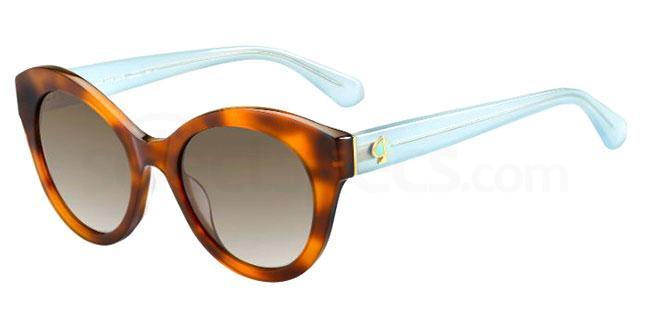 09Q (HA) KARLEIGH/S Sunglasses, Kate Spade