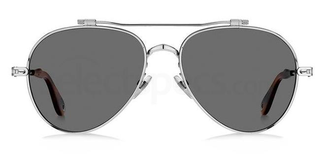 010  (M9) GV 7057/S NUDE Sunglasses, Givenchy
