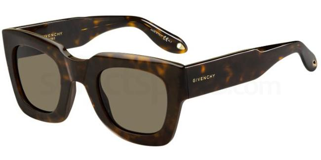 086  (70) GV 7061/S Sunglasses, Givenchy