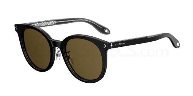 807 (70) GV 7063/F/S Sunglasses, Givenchy
