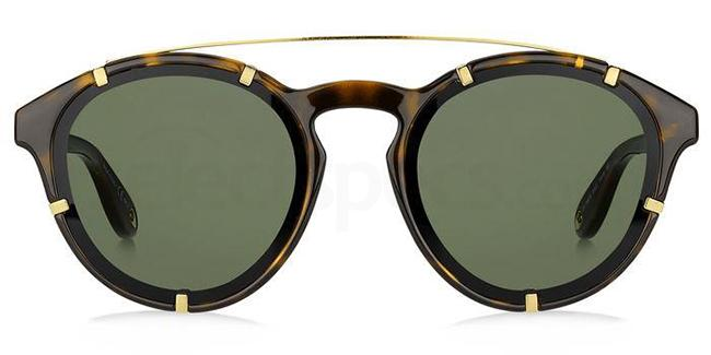 086 (QT) GV 7088/S Sunglasses, Givenchy