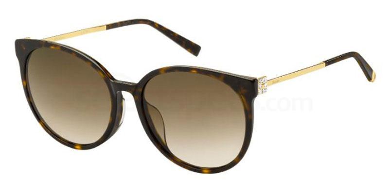 086 (HA) MM TILE FS Sunglasses, MaxMara Occhiali