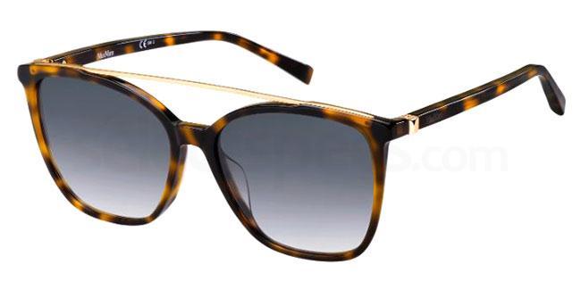 086 (9O) MM HINGE II/G Sunglasses, MaxMara Occhiali