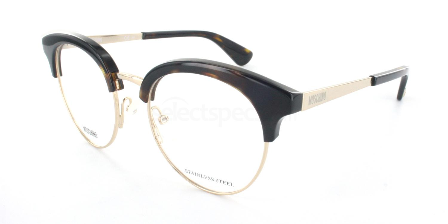 086 MOS514 Glasses, Moschino
