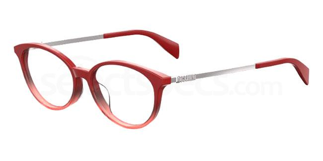 C9A MOS526/F Glasses, Moschino