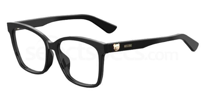 807 MOS539/F Glasses, Moschino