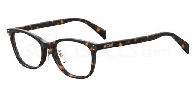 086 MOS540/F Glasses, Moschino