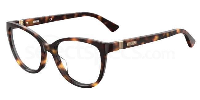 086 MOS559 Glasses, Moschino