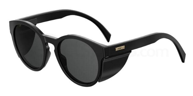 807 (IR) MOS017/S Sunglasses, Moschino