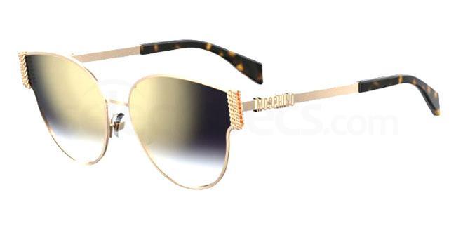 06J (FQ) MOS028/F/S Sunglasses, Moschino