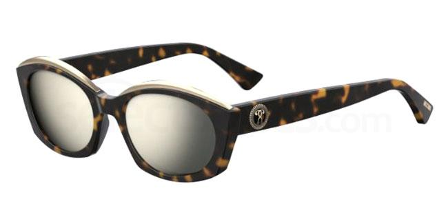 086 (UE) MOS032/S Sunglasses, Moschino