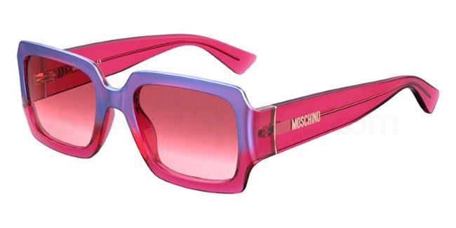 C9A (3X) MOS063/S Sunglasses, Moschino