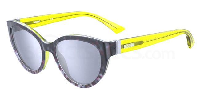 0NE (T4) MOS065/S Sunglasses, Moschino