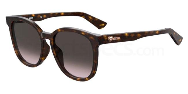 086 (HA) MOS074/F/S Sunglasses, Moschino