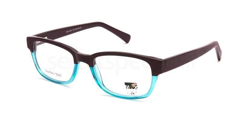 C2 M957 Glasses, Max Eyewear