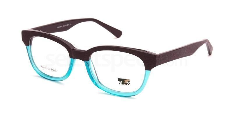 C2 M958 Glasses, Max Eyewear