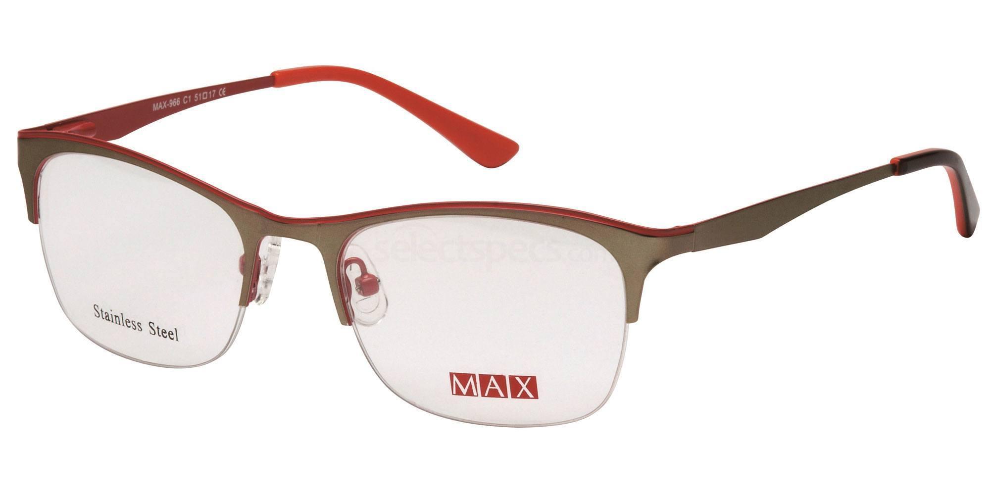 C1 M966 Glasses, Max Eyewear