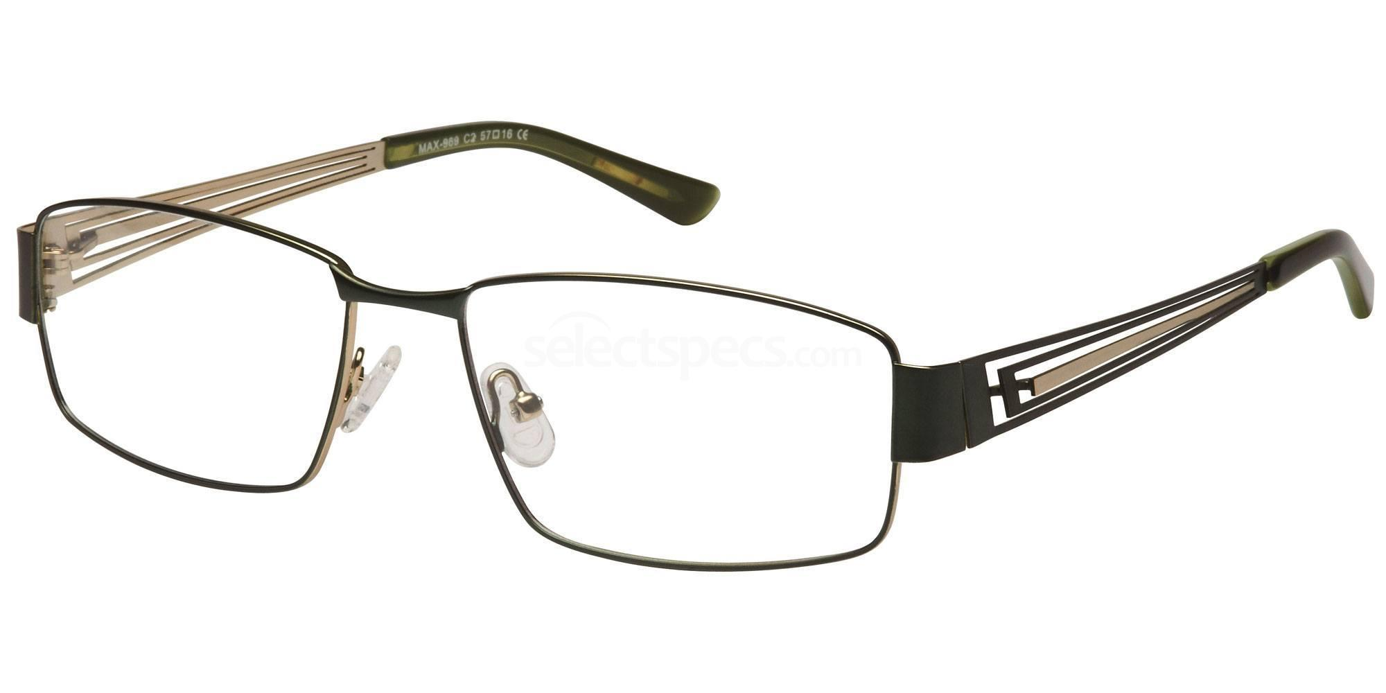 C2 M969 Glasses, Max Eyewear