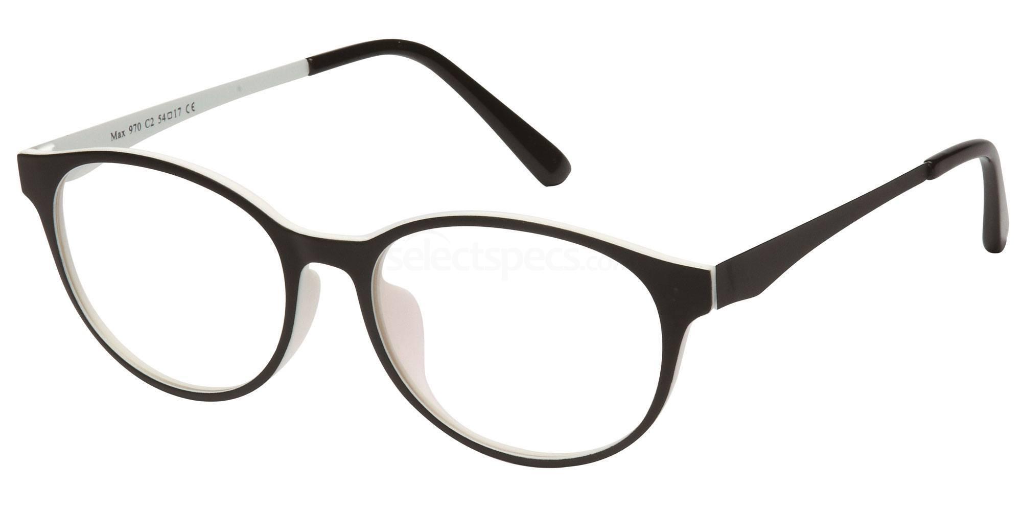 C2 M970 Glasses, Max Eyewear
