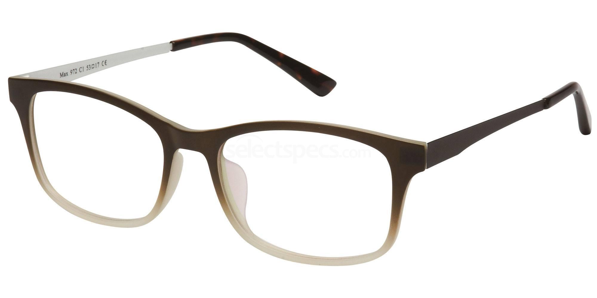 C1 M972 Glasses, Max Eyewear
