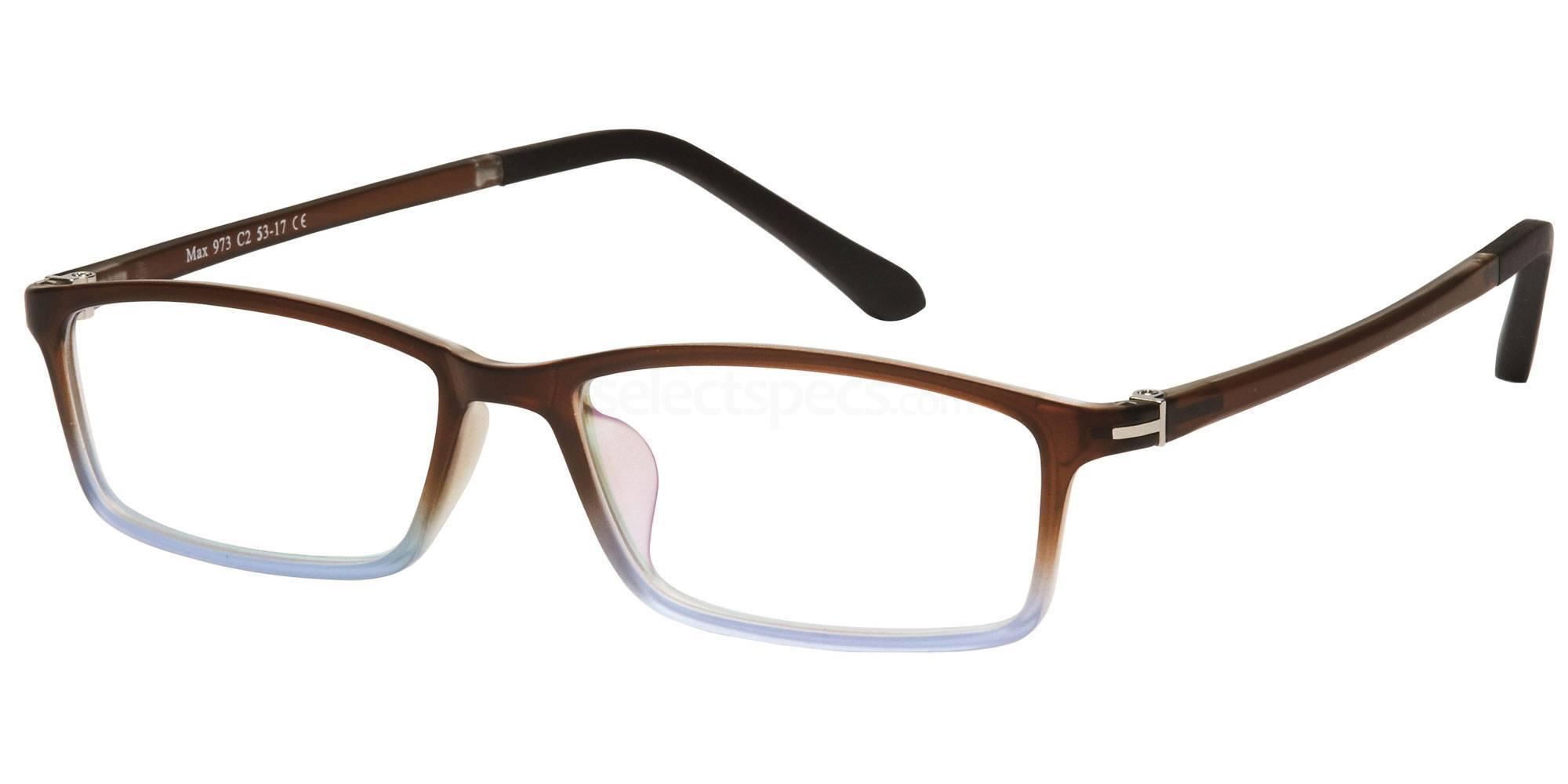 C2 M973 Glasses, Max Eyewear