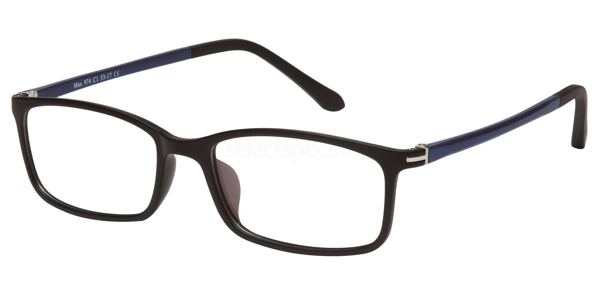 C1 M974 Glasses, Max Eyewear
