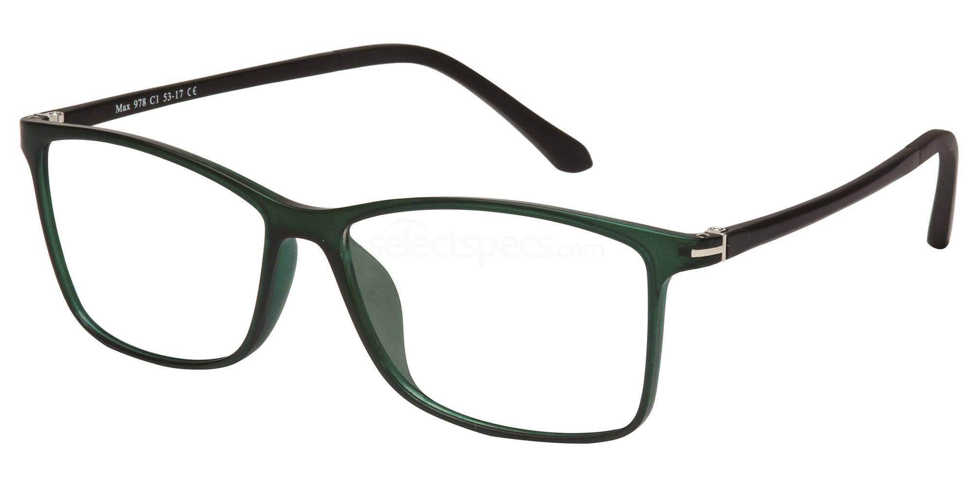 C1 M978 Glasses, Max Eyewear