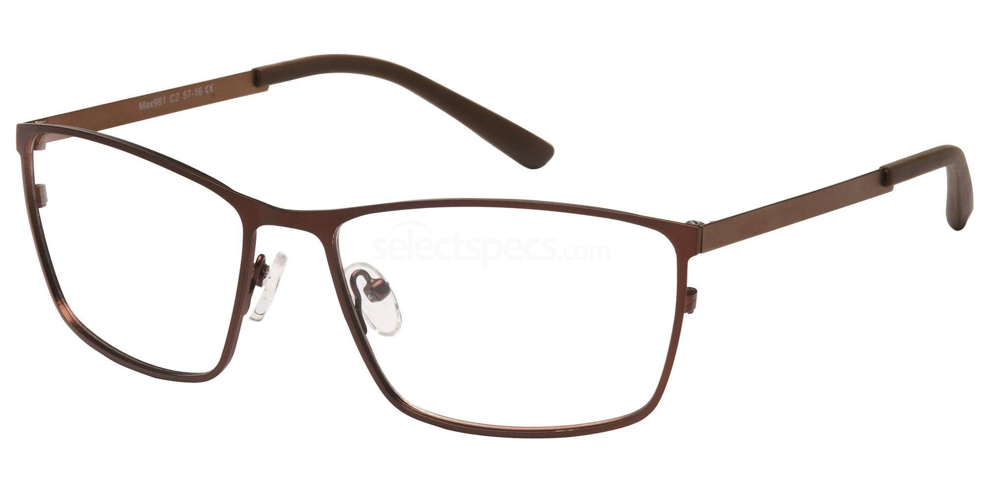 C2 M981 Glasses, Max Eyewear