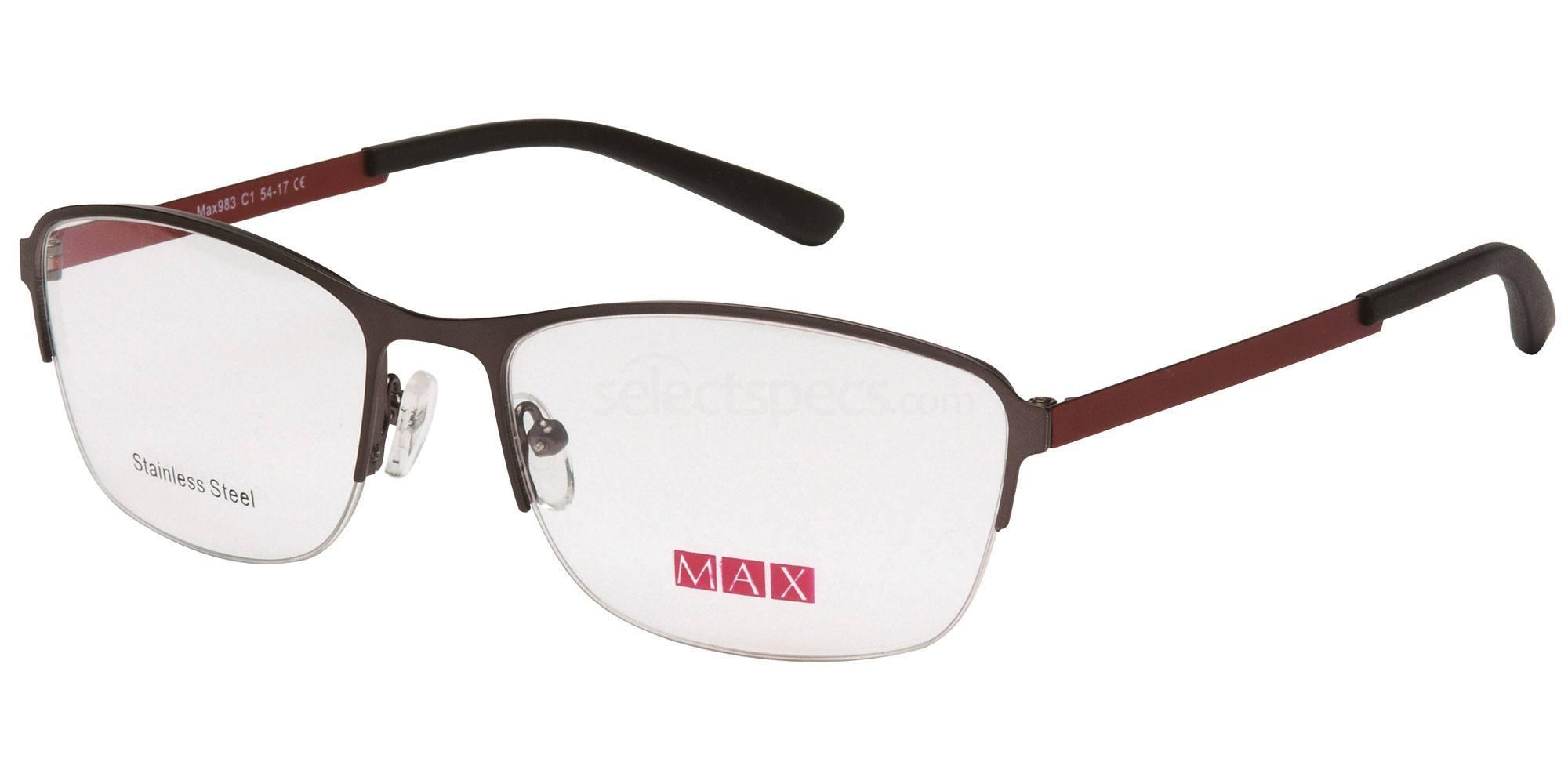 C1 M983 Glasses, Max Eyewear