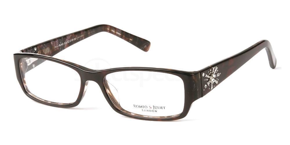 C2 RJ43 Glasses, Romeo & Juliet
