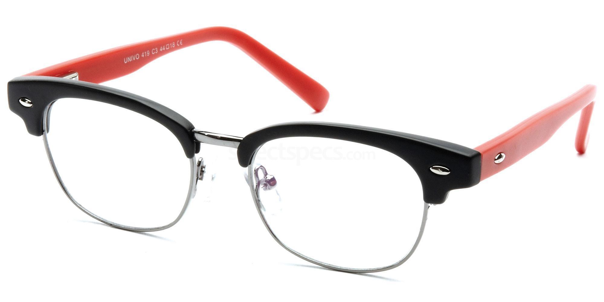 C3 U419 Glasses, Univo