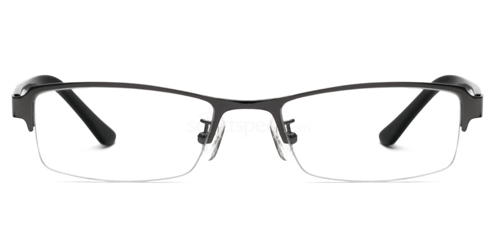 Shiny Gunmetal 8062 Glasses, Infinity