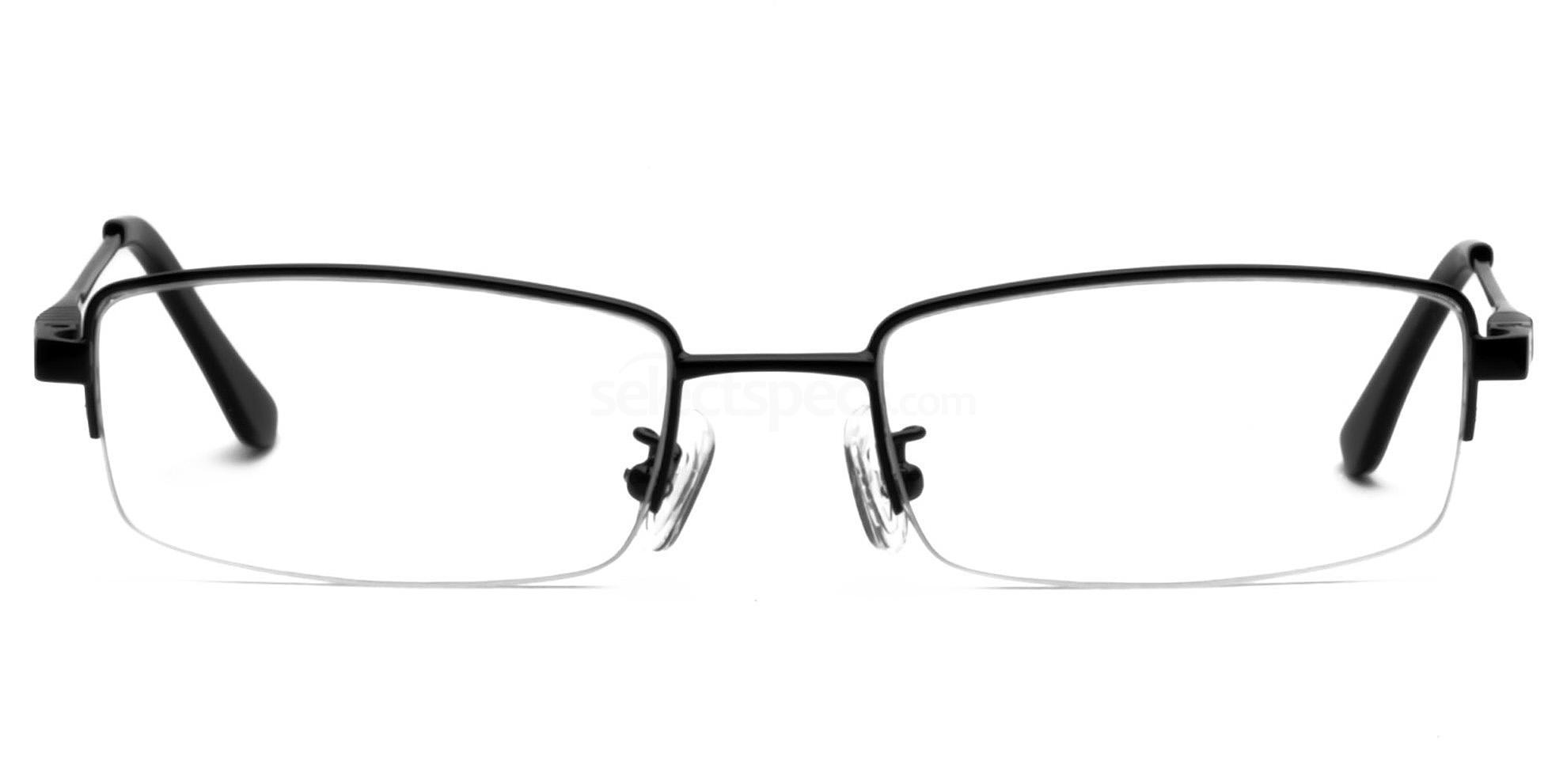 Black E8005 Glasses, Infinity