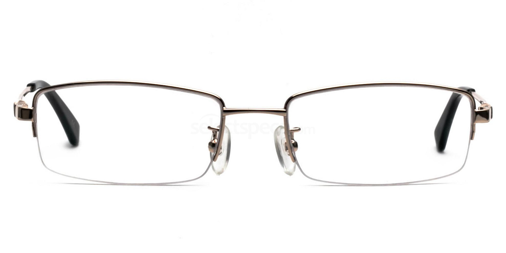 Gold E8005 Glasses, Infinity