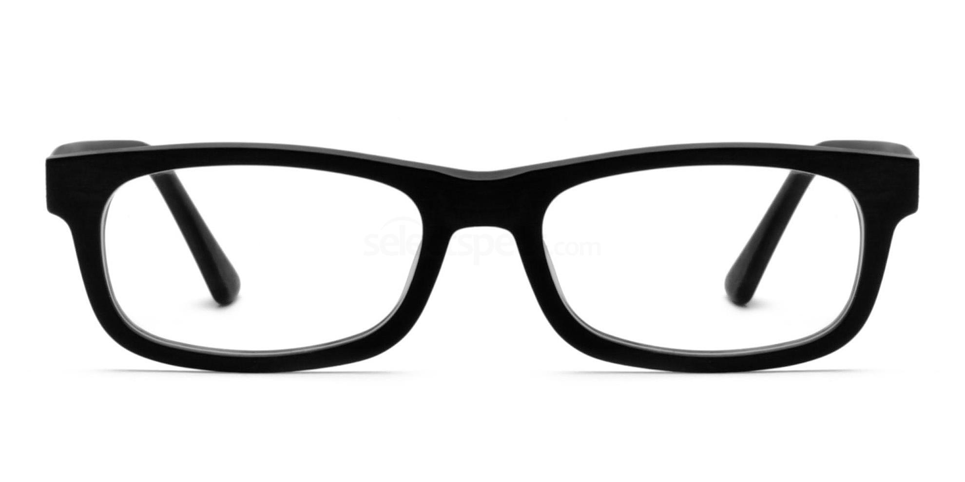 Black 1252 Glasses, Infinity