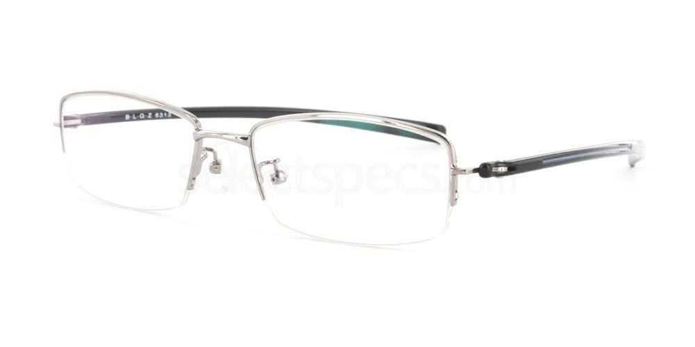Gunmetal 6313 Glasses, Infinity