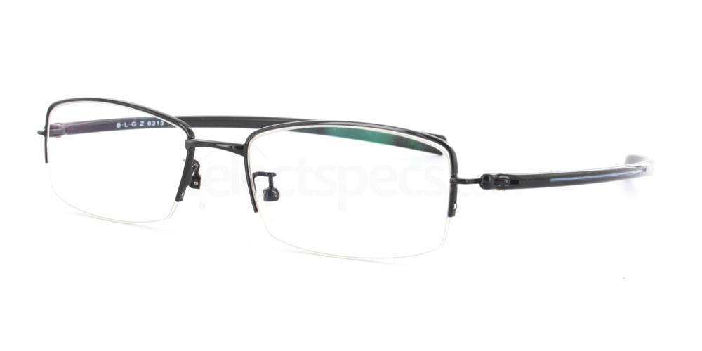 Black 6313 Glasses, Infinity