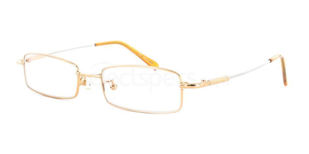 Gold 707 Glasses, Infinity