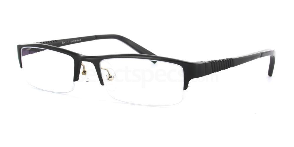 Black B090 Aluminium Glasses, Infinity